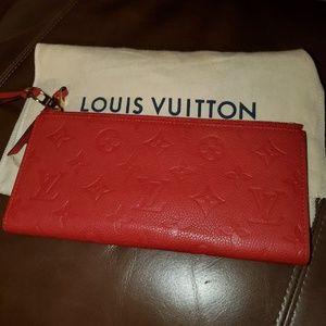 Louis Vuitton Adele Empreinte Wallet